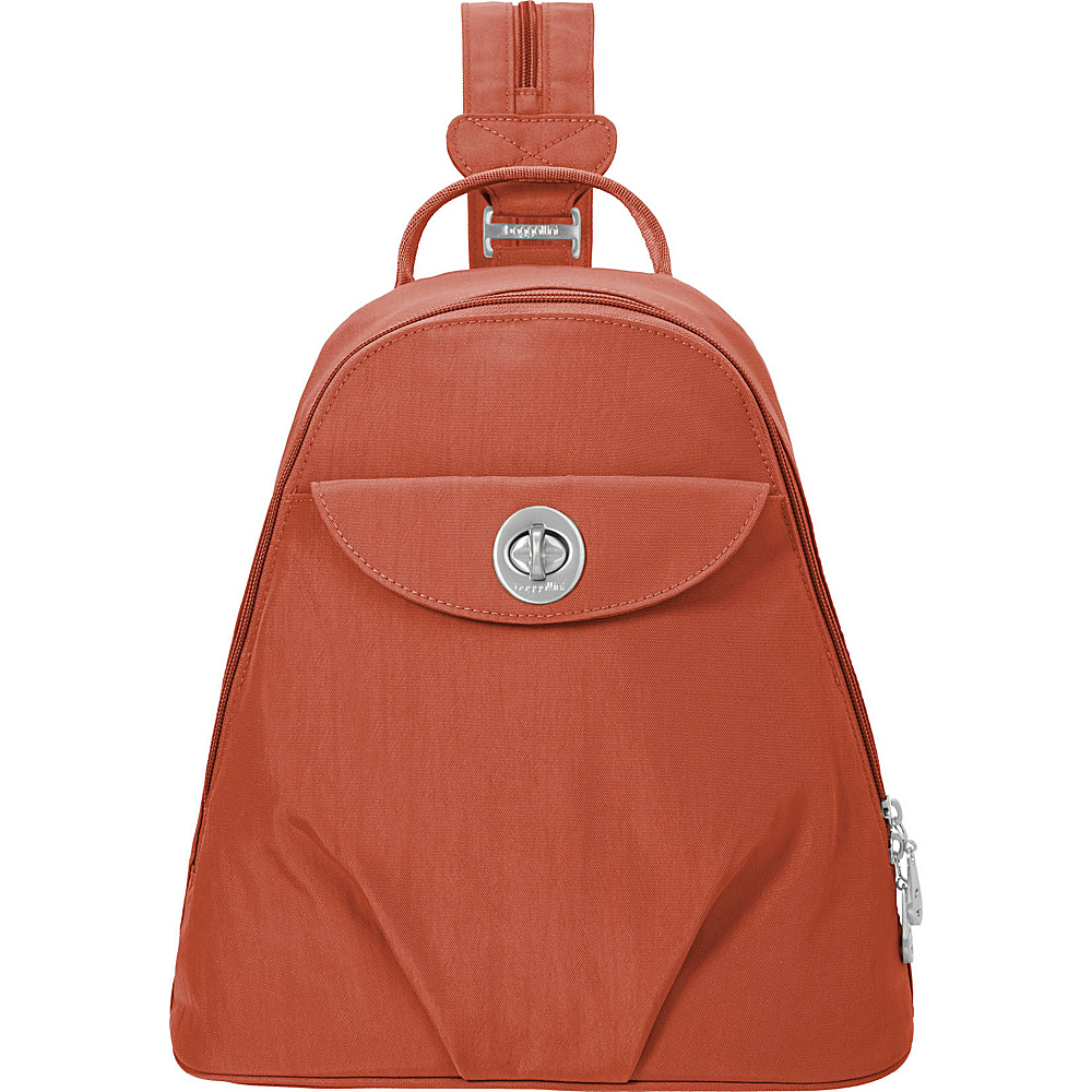 baggallini Dallas Convertible Backpack Adobe - baggallini Fabric Handbags - Handbags, Fabric Handbags