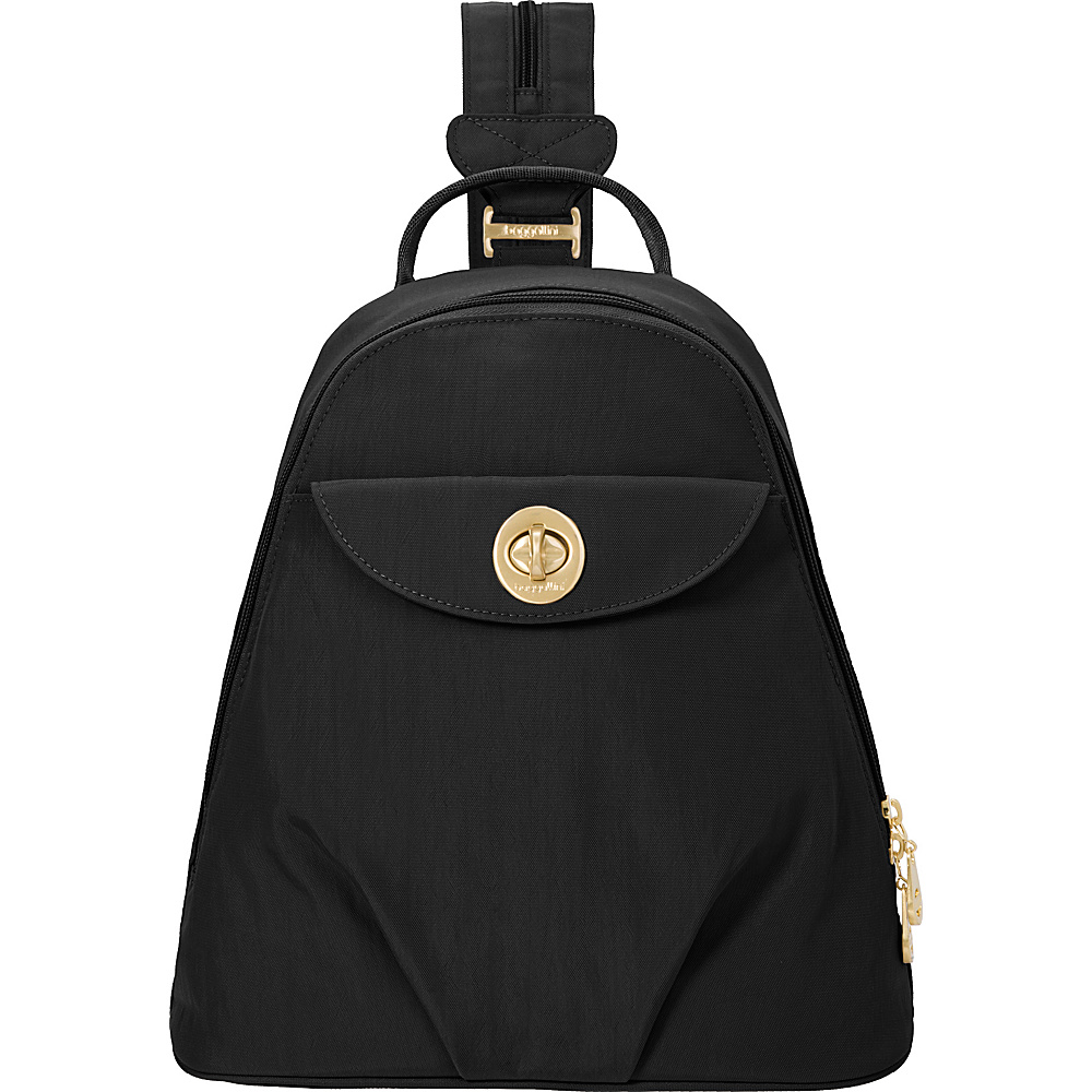 baggallini Dallas Convertible Backpack Black - baggallini Fabric Handbags - Handbags, Fabric Handbags
