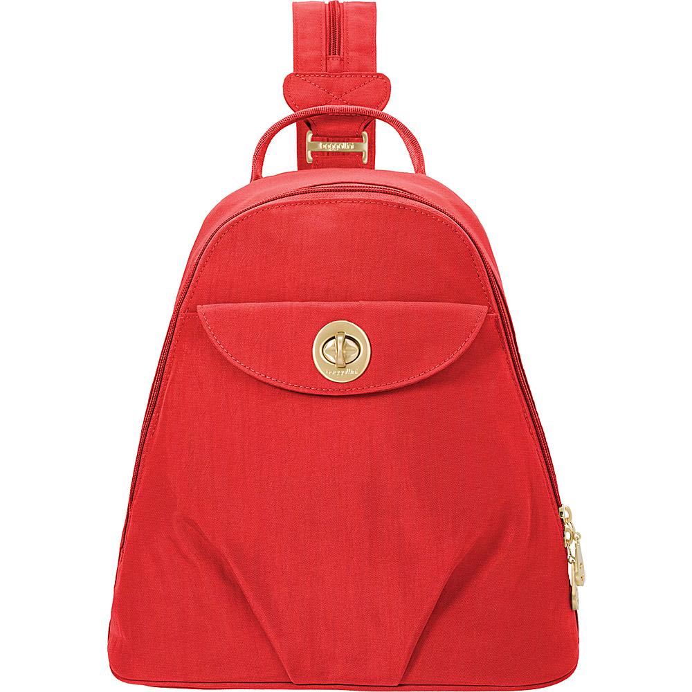 baggallini Dallas Convertible Backpack Hibiscus - baggallini Fabric Handbags - Handbags, Fabric Handbags