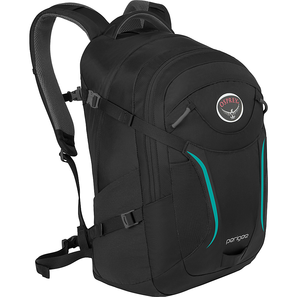 Osprey Perigee Laptop Backpack- Discontinued Colors Black - Osprey Business & Laptop Backpacks - Backpacks, Business & Laptop Backpacks