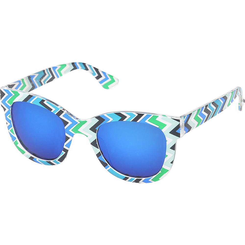SW Global Easton Square Fashion Sunglasses Blue - SW Global Eyewear - Fashion Accessories, Eyewear