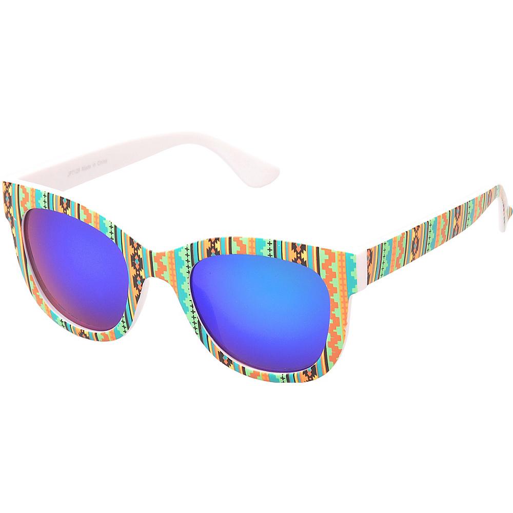 SW Global Easton Square Fashion Sunglasses Orange - SW Global Eyewear - Fashion Accessories, Eyewear