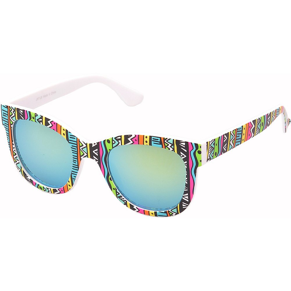 SW Global Easton Square Fashion Sunglasses Pink-Blue - SW Global Eyewear - Fashion Accessories, Eyewear