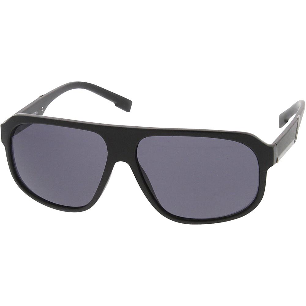 SW Global Sport Fashion Geometric Plastic Aviator Frame Sunglasses Black - SW Global Eyewear - Fashion Accessories, Eyewear