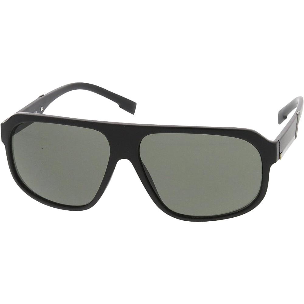 SW Global Sport Fashion Geometric Plastic Aviator Frame Sunglasses Grey - SW Global Eyewear - Fashion Accessories, Eyewear