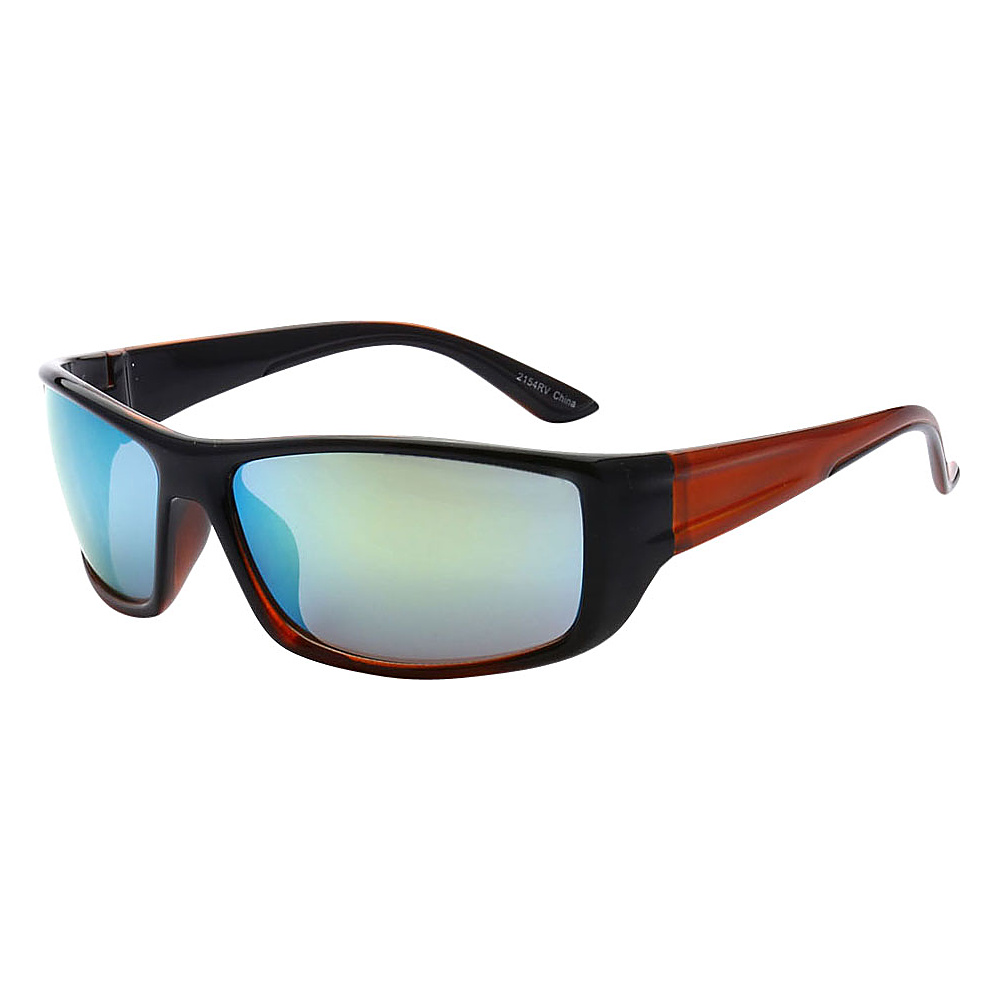 SW Global Outdoors Sports Full Square Framed UV400 Sunglasses Red Blue Green - SW Global Eyewear - Fashion Accessories, Eyewear
