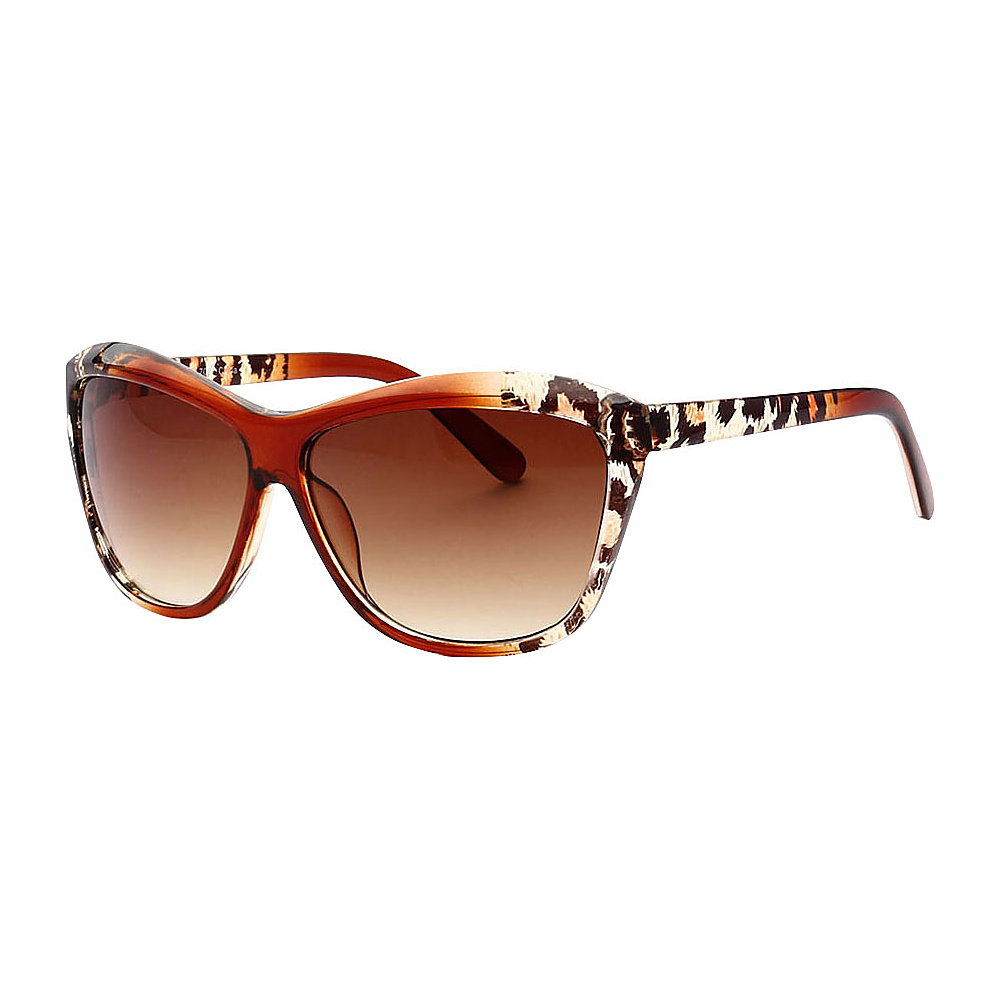SW Global Trendy Animal Safari Outdoor UV400 Sunglasses Brown Leopard Amber - SW Global Eyewear - Fashion Accessories, Eyewear