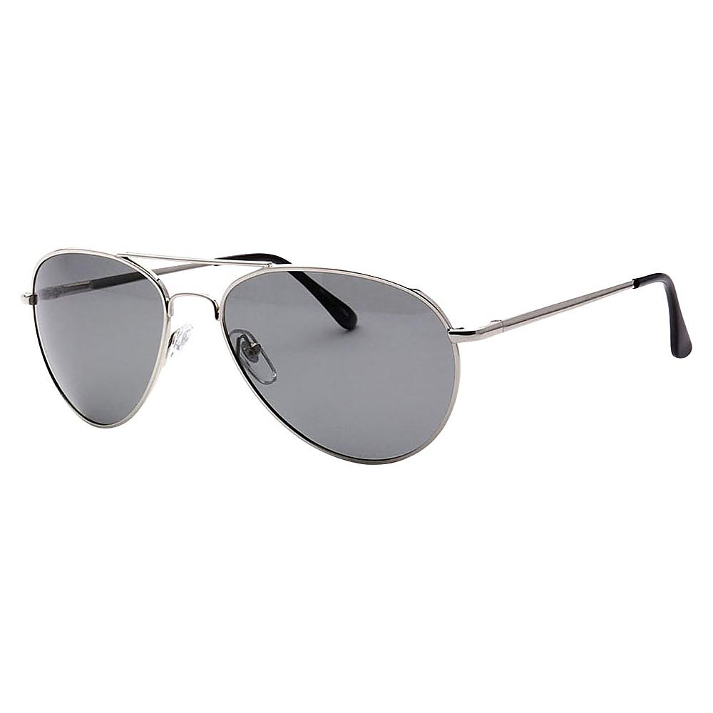 SW Global Ultra Light Weight Sport Aviator UV400 Sunglasses Black Silver Black - SW Global Eyewear - Fashion Accessories, Eyewear