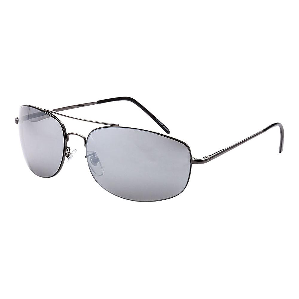 SW Global Ultra Light Weight Sport Aviator UV400 Sunglasses Black Silver - SW Global Eyewear - Fashion Accessories, Eyewear