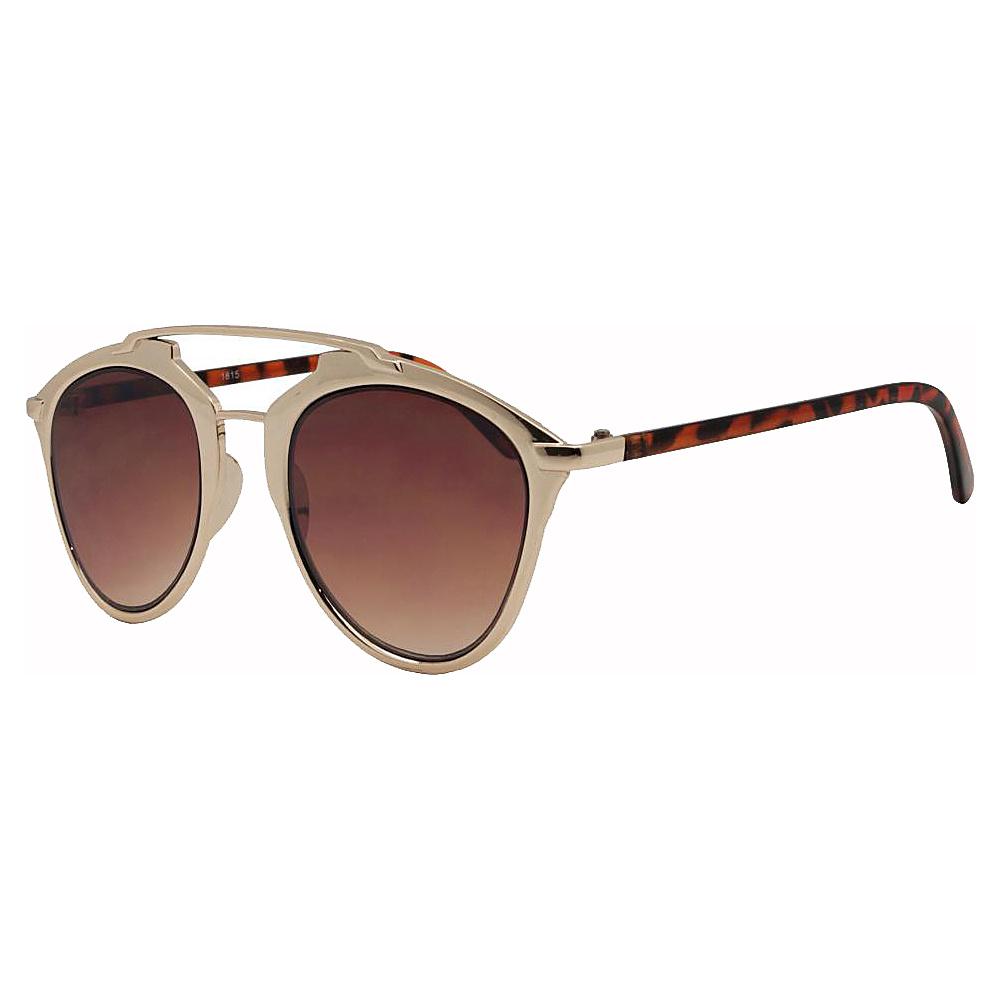 SW Global Designer Dapper Frame Metal Horned Rim UV400 Sunglasses Multi-Colors - SW Global Eyewear - Fashion Accessories, Eyewear