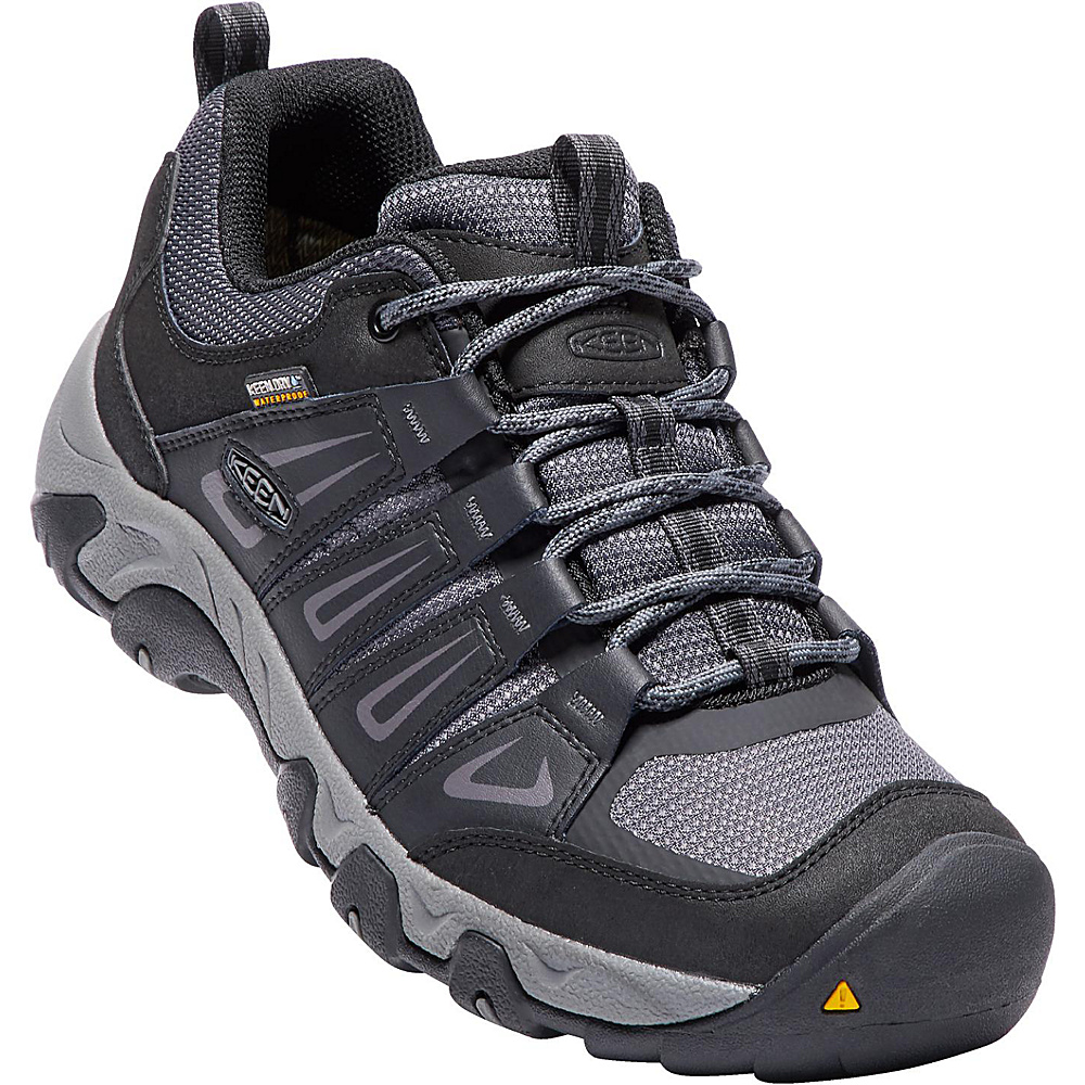 KEEN Mens Oakridge Waterproof Boot 13 - Magnet/Gargoyle - KEEN Mens Footwear - Apparel & Footwear, Men's Footwear