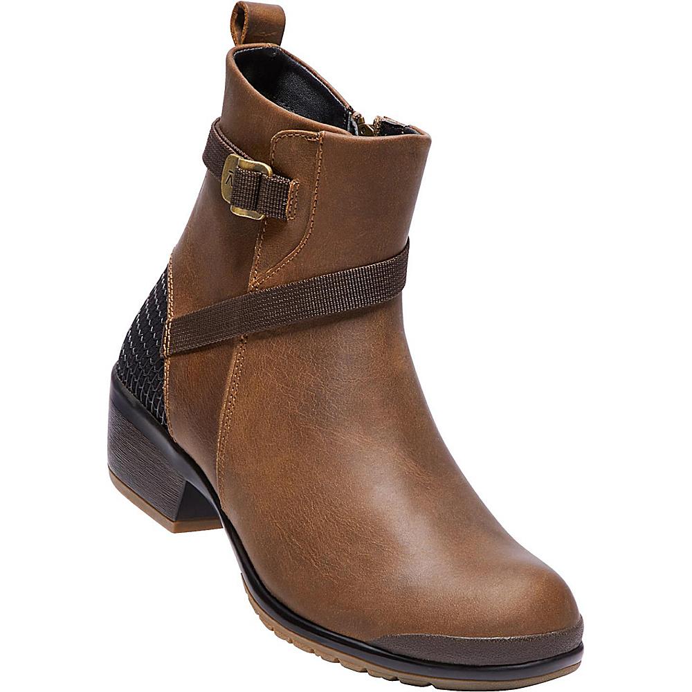 KEEN Womens Morrison Mid Lea Boot 7 - Crisp/Mulch - KEEN Womens Footwear - Apparel & Footwear, Women's Footwear