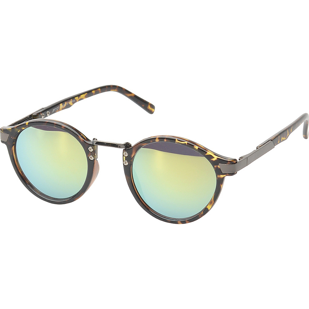 SW Global Edon Round Fashion Sunglasses Leopard - SW Global Eyewear - Fashion Accessories, Eyewear
