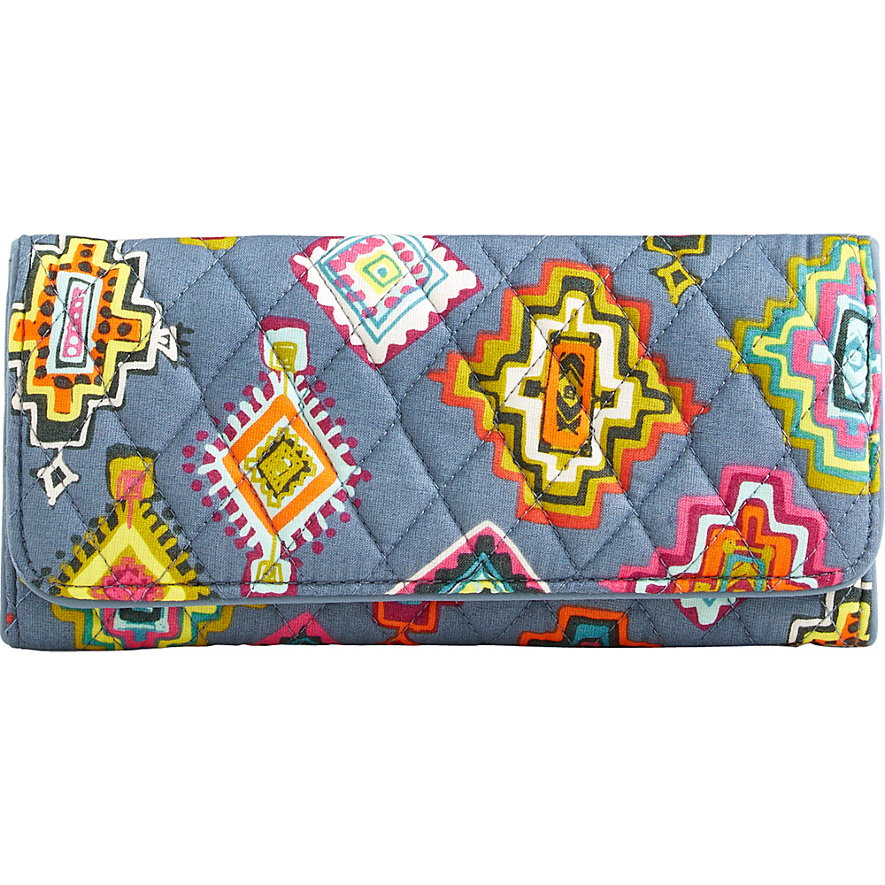 Vera Bradley RFID Trifold Wallet Painted Medallions - Vera Bradley Designer Ladies Wallets - Ladies Wallets, Designer Ladies Wallets