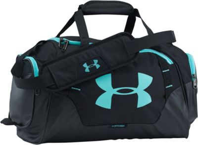Under Armour Undeniable 3.0 Extra Small Duffle Black/Black/Blue Infinity - Under Armour Gym Bags