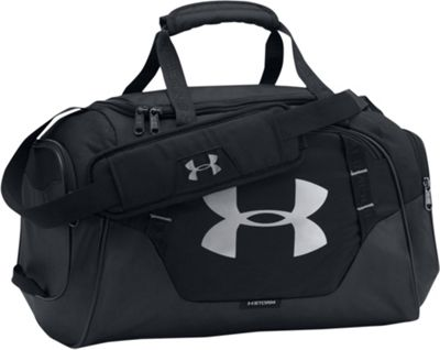 Under Armour Undeniable 3.0 Extra Small Duffle Black/Black/Silver - Under Armour Gym Duffels