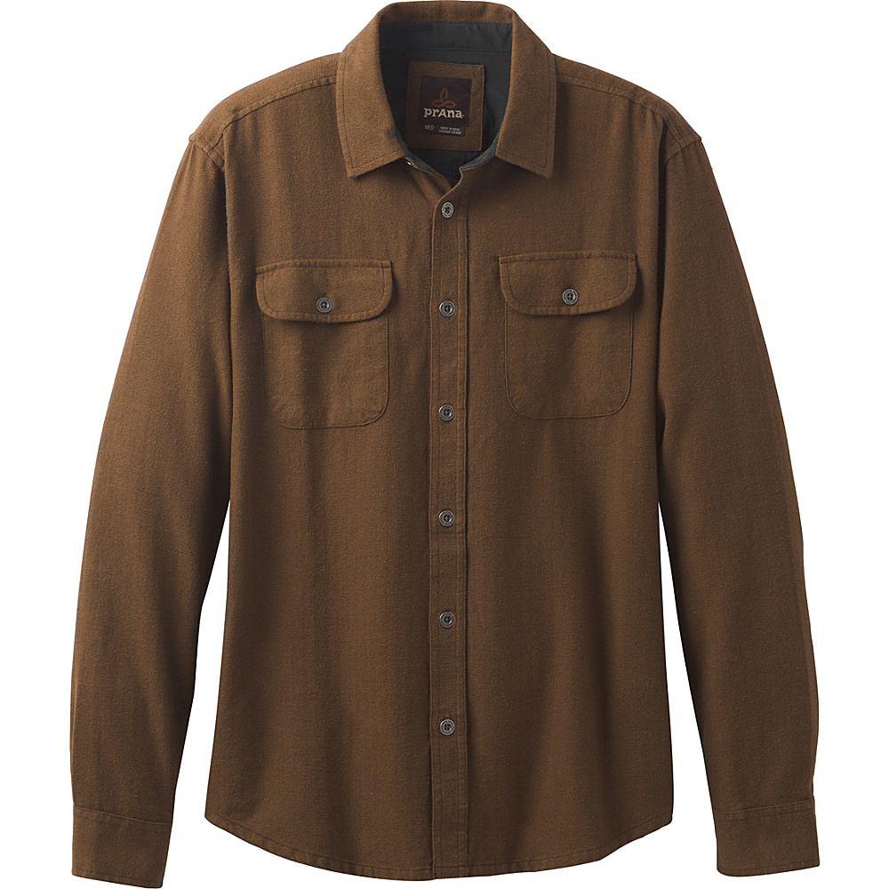 PrAna Lybeck Shirt S - Sepia - PrAna Mens Apparel - Apparel & Footwear, Men's Apparel