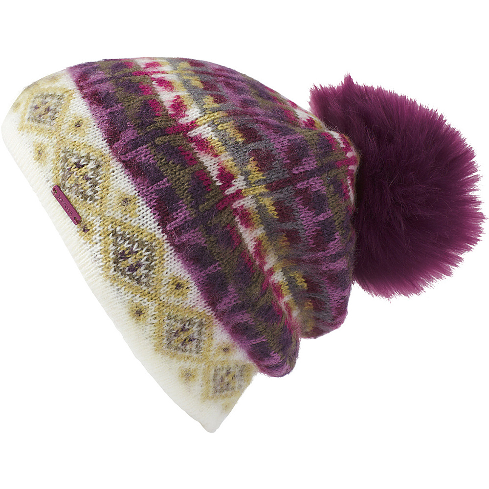 PrAna Cubic Beanie One Size - Sangria - PrAna Hats - Fashion Accessories, Hats