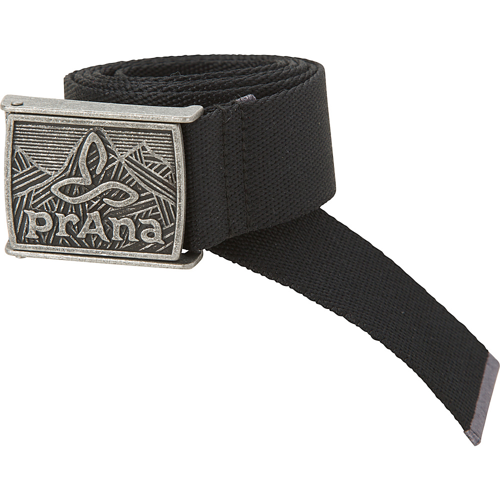 PrAna Union Belt L/XL - Black - PrAna Belts - Fashion Accessories, Belts