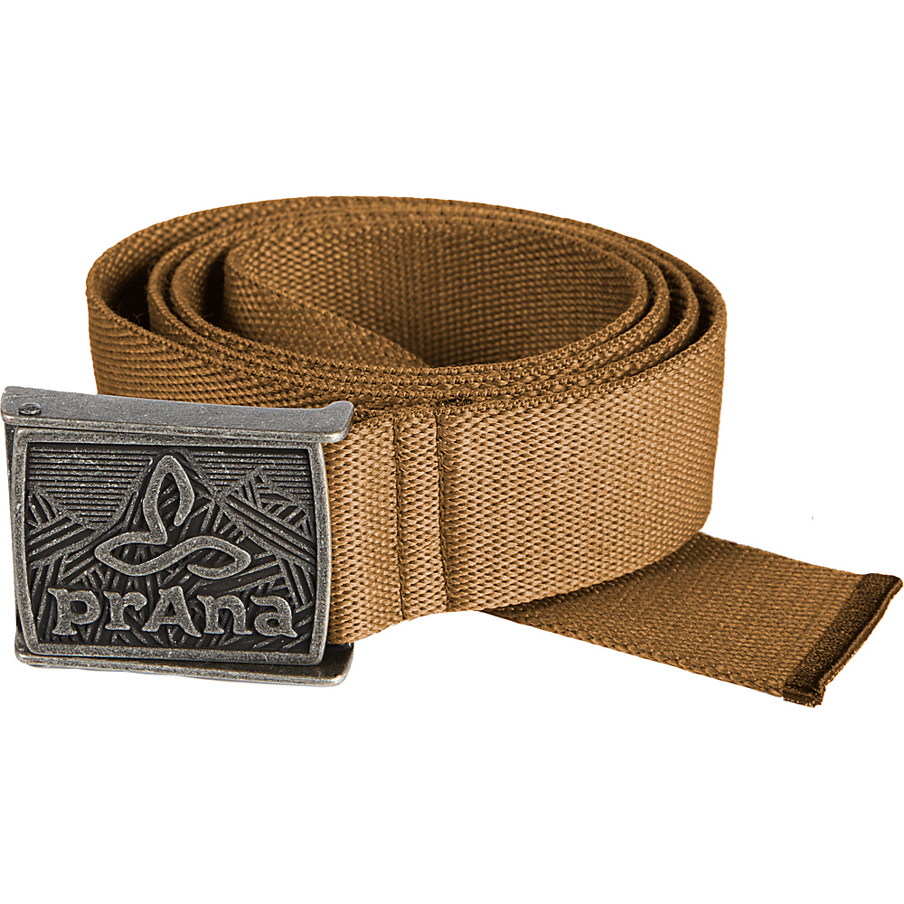 PrAna Union Belt L/XL - Desert Khaki - PrAna Belts - Fashion Accessories, Belts