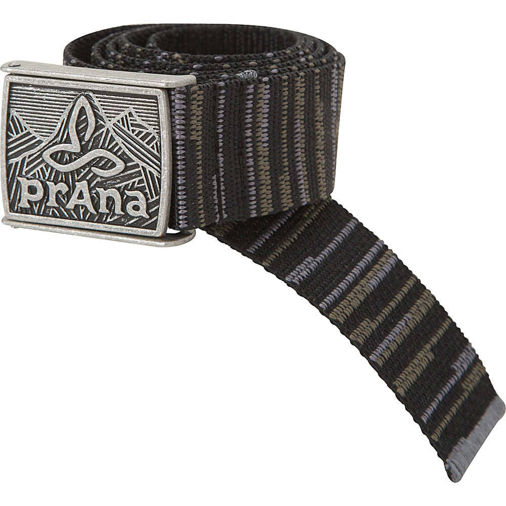 PrAna Union Belt L/XL - Gravel - PrAna Belts - Fashion Accessories, Belts