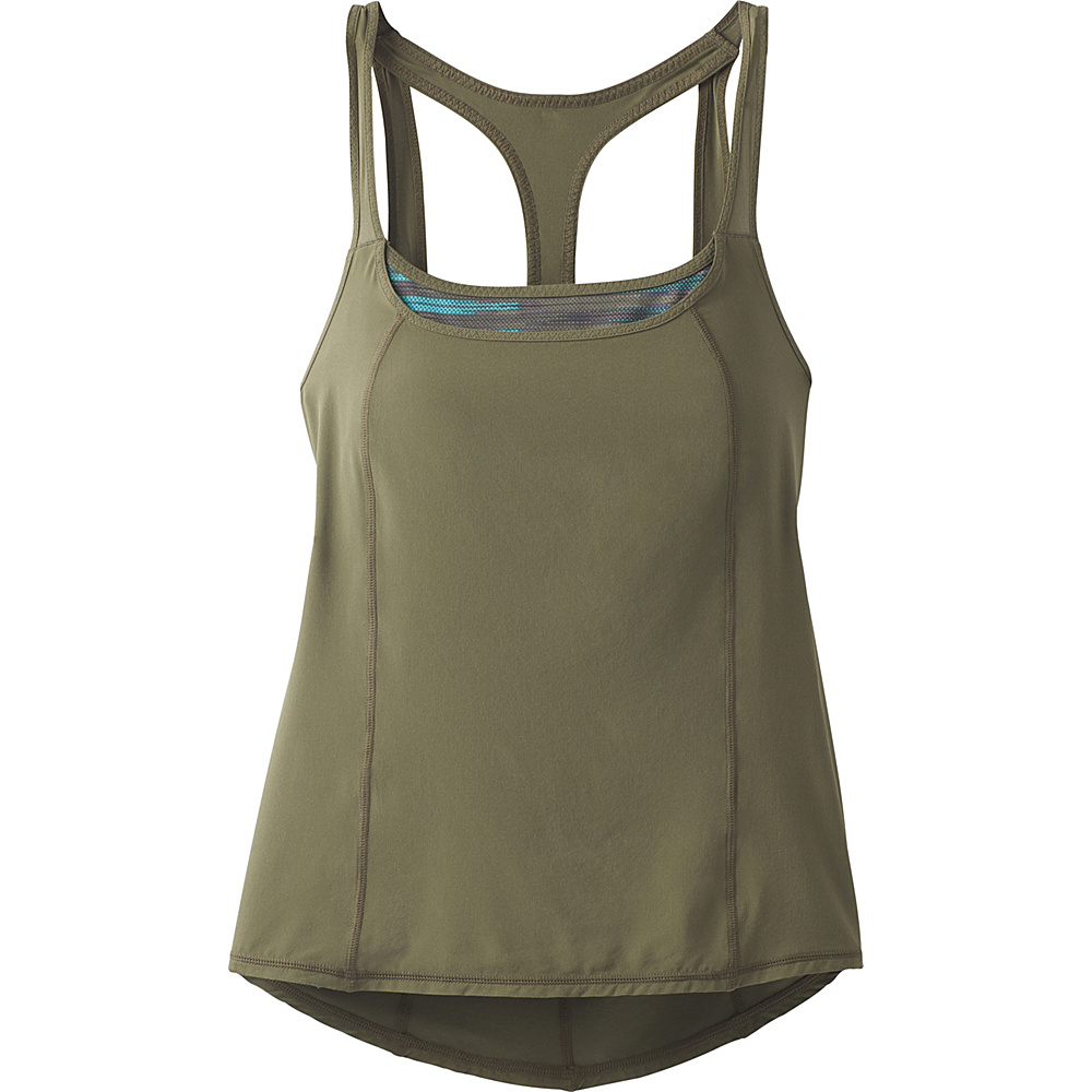 PrAna Sway Tank S - Cargo Green - PrAna Womens Apparel - Apparel & Footwear, Women's Apparel
