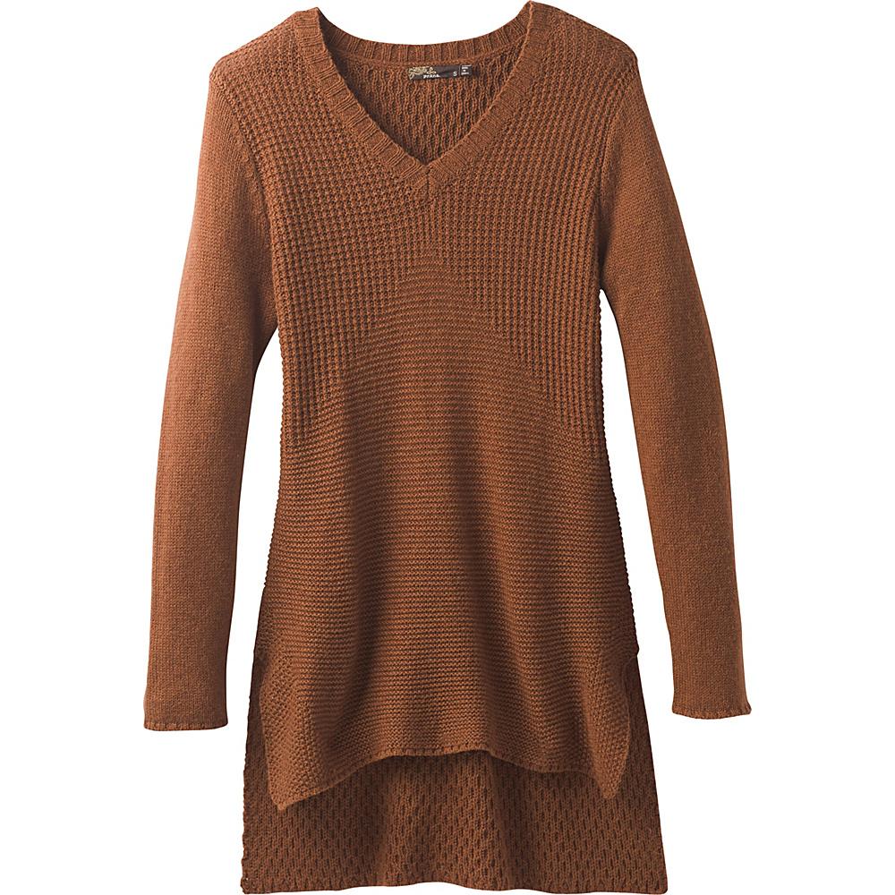PrAna Deedra Sweater Tunic XL - Auburn - PrAna Womens Apparel - Apparel & Footwear, Women's Apparel
