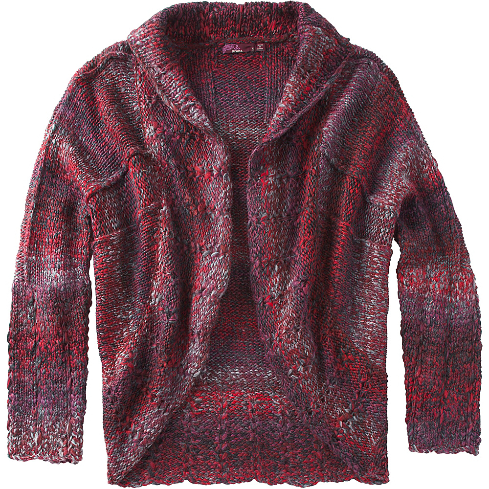 PrAna Rosewood Wrap M - Red - PrAna Womens Apparel - Apparel & Footwear, Women's Apparel