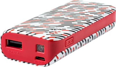 Yell by Voguestrap 4400 mAh Fashion Printed Powerbank Red - Yell by Voguestrap Portable Batteries & Chargers
