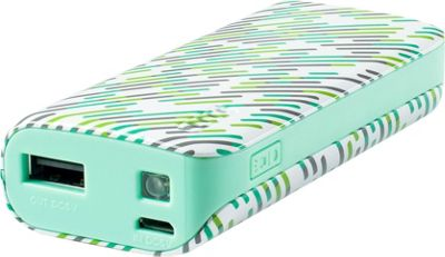 Yell by Voguestrap 4400 mAh Fashion Printed Powerbank Green - Yell by Voguestrap Portable Batteries & Chargers