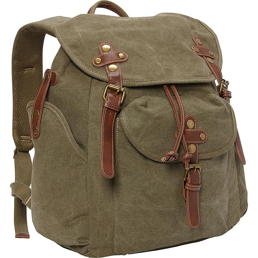 Sun N Sand Coleman Backpack Military Green - Sun N Sand School & Day Hiking Backpacks - Backpacks, School & Day Hiking Backpacks