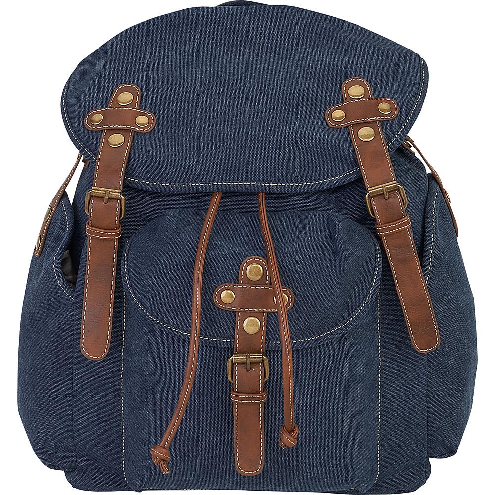 Sun N Sand Coleman Backpack A-Denim - Sun N Sand School & Day Hiking Backpacks - Backpacks, School & Day Hiking Backpacks