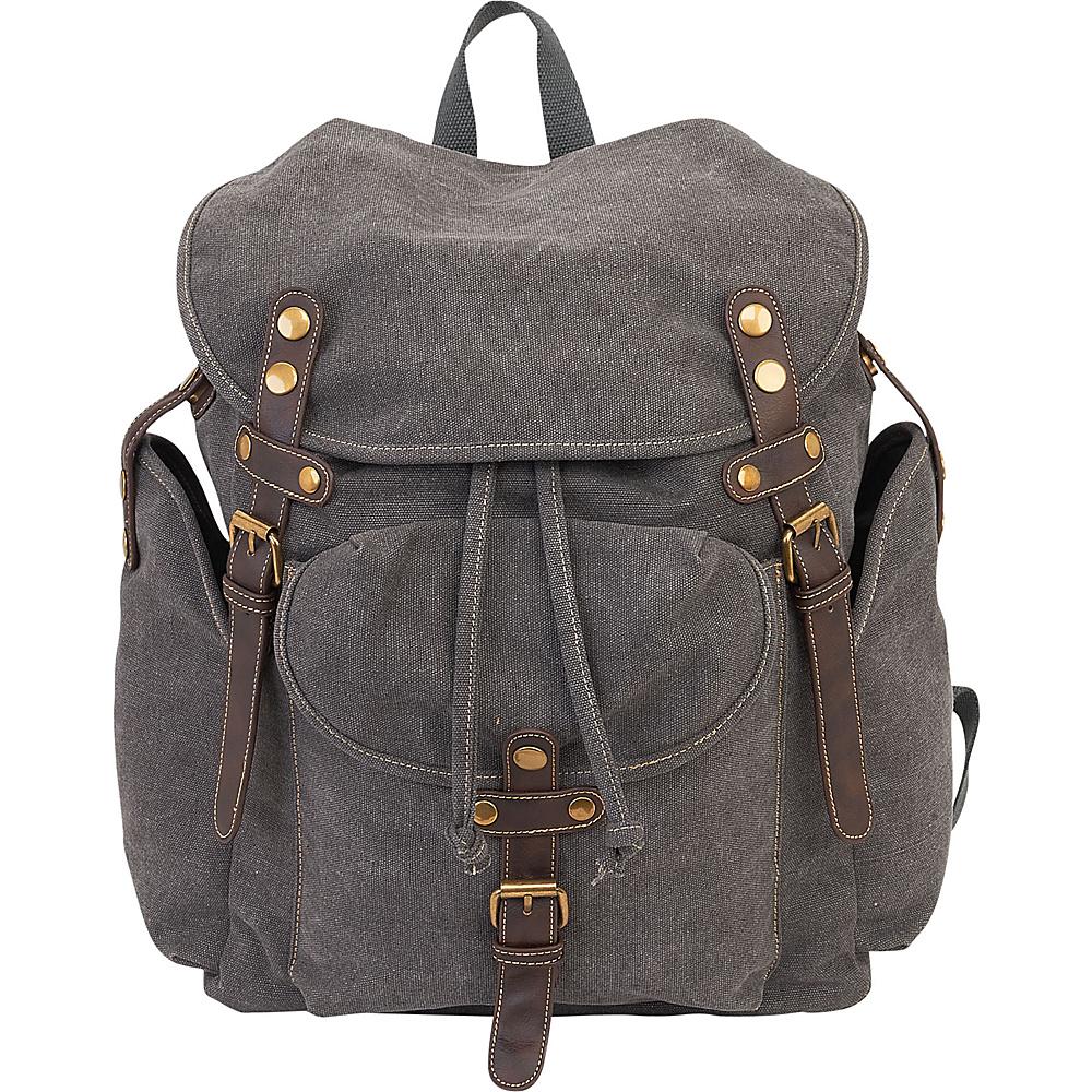 Sun N Sand Coleman Backpack Grey - Sun N Sand School & Day Hiking Backpacks - Backpacks, School & Day Hiking Backpacks