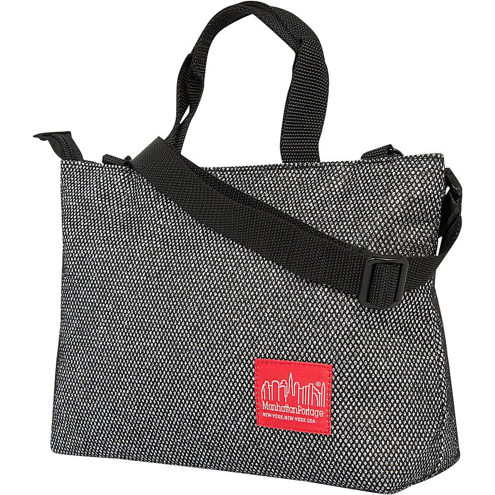 Manhattan Portage Midnight Remsen Street Tote Gunmetal Silver - Manhattan Portage Leather Handbags - Handbags, Leather Handbags