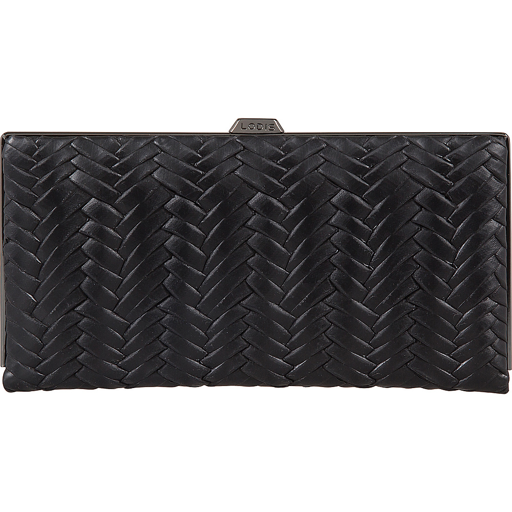 Lodis Nova RFID Quinn Clutch Wallet Black - Lodis Womens Wallets - Women's SLG, Women's Wallets