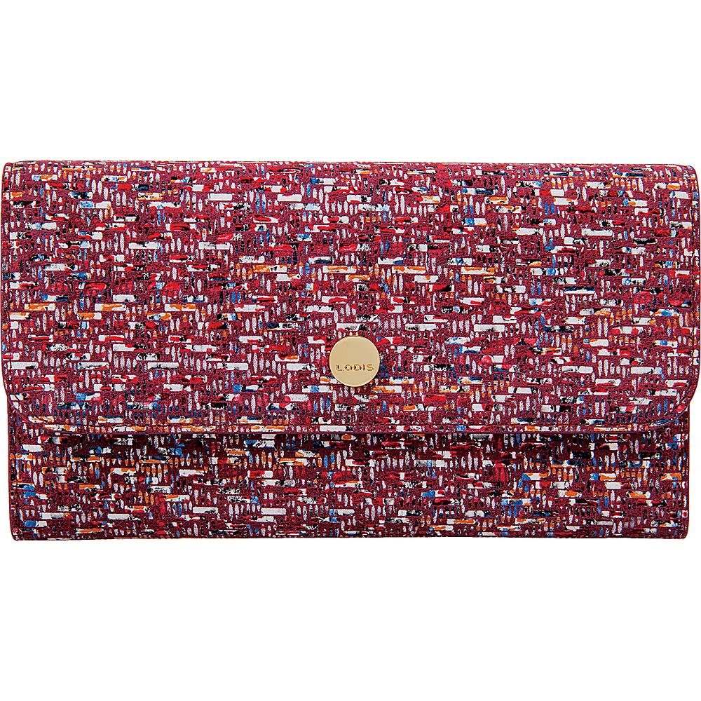 Lodis Tweetable Tweed RFID Cami Clutch Wallet Brick - Lodis Womens Wallets - Women's SLG, Women's Wallets