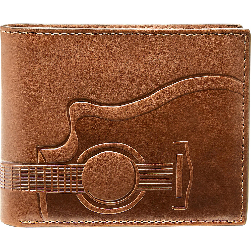 Fossil Nash RFID Flip ID Bifold Cognac - Fossil Mens Wallets - Work Bags & Briefcases, Men's Wallets