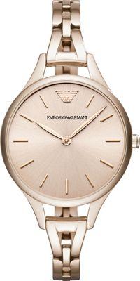 Emporio Armani Dress Watch Pink - Emporio Armani Watches