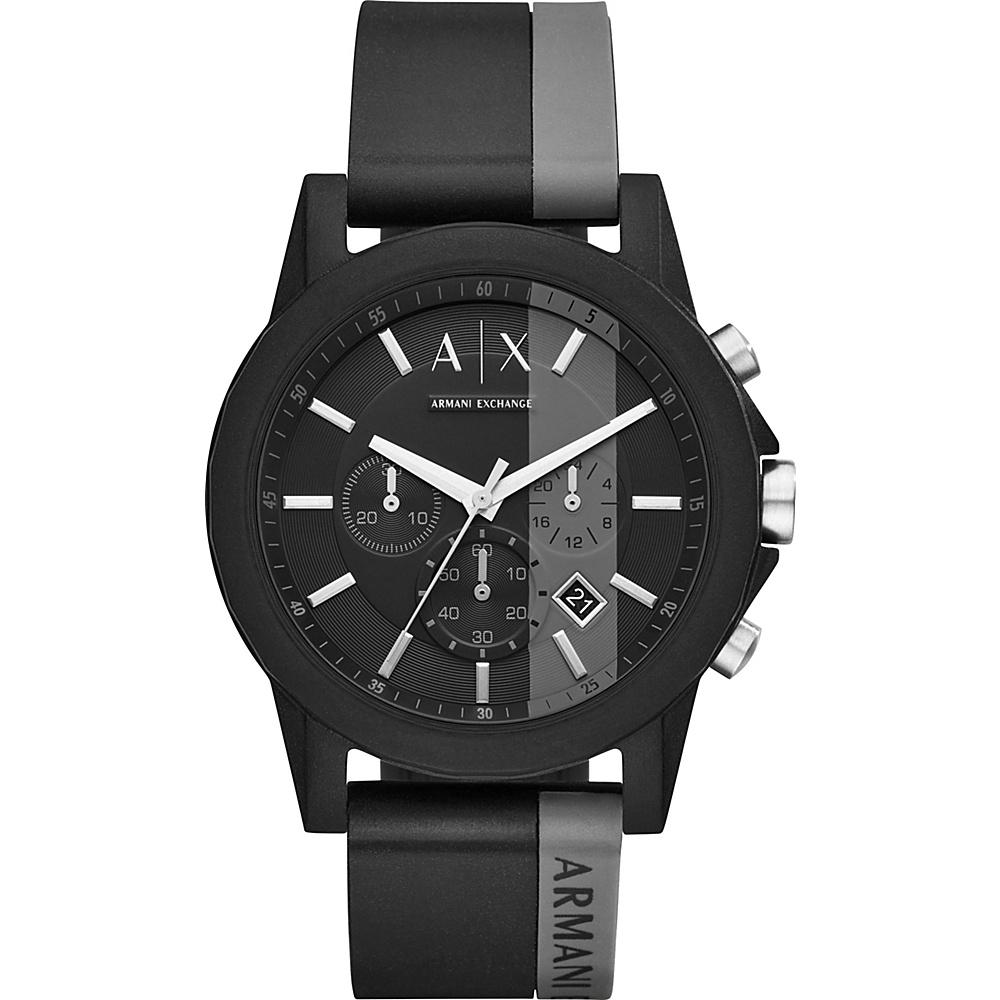 A/X Armani Exchange Active Watch Black/Gray - A/X Armani Exchange Watches