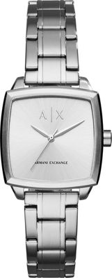 A/X Armani Exchange Dress Watch Silver - A/X Armani Exchange Watches