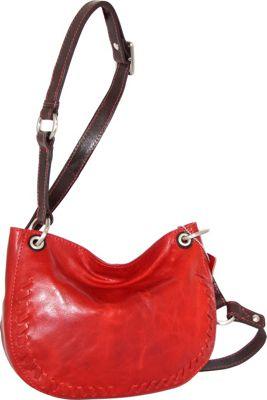 Nino Bossi Kloe Crossbody Bag Tomato - Nino Bossi Leather Handbags