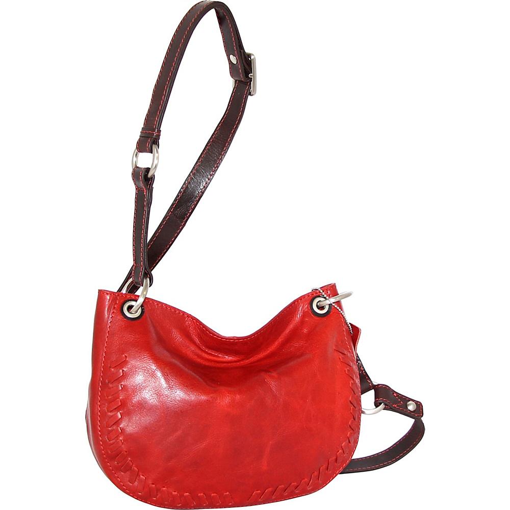 Nino Bossi Kloe Crossbody Bag Tomato - Nino Bossi Leather Handbags - Handbags, Leather Handbags