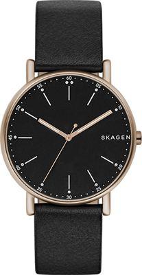 Skagen Signatur Watch Black - Skagen Watches