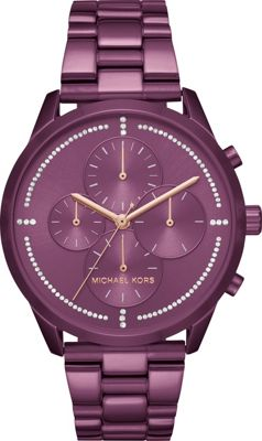 Michael Kors Watches Slater Chronograph Watch Purple - Michael Kors Watches Watches