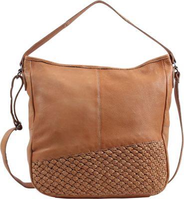 Day & Mood Angel Hobo Camel - Day & Mood Leather Handbags
