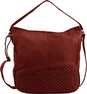 Day & Mood Angel Hobo Rusty Red - Day & Mood Leather Handbags