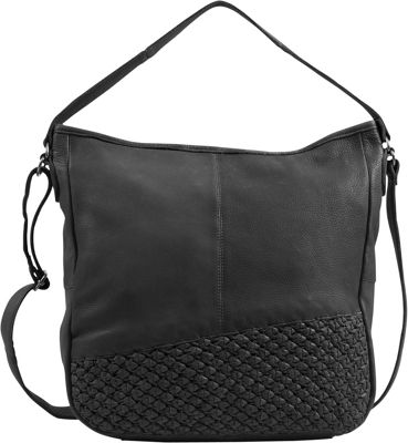 Day & Mood Angel Hobo Black - Day & Mood Leather Handbags