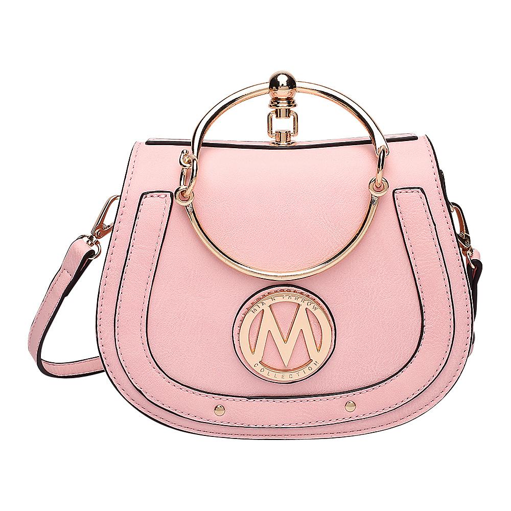 MKF Collection by Mia K. Farrow Celine Crossbody Light Pink - MKF Collection by Mia K. Farrow Manmade Handbags - Handbags, Manmade Handbags