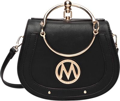 MKF Collection by Mia K. Farrow Celine Crossbody Black - ...