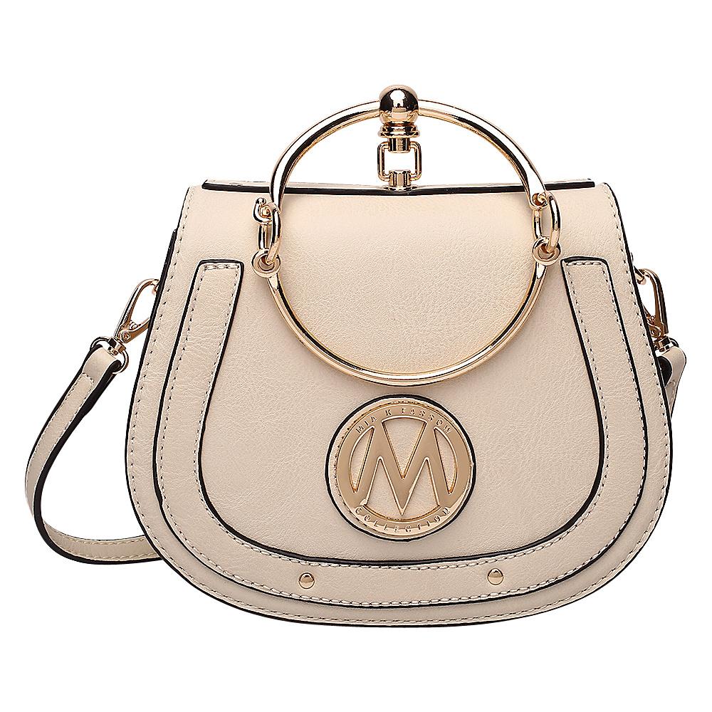 MKF Collection by Mia K. Farrow Celine Crossbody Beige - MKF Collection by Mia K. Farrow Manmade Handbags - Handbags, Manmade Handbags